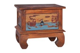 Bedside Cabinet 45x35x40 cm Reclaimed Teak Wood