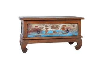 Coffee Table 80x50x40 cm Reclaimed Teak Wood