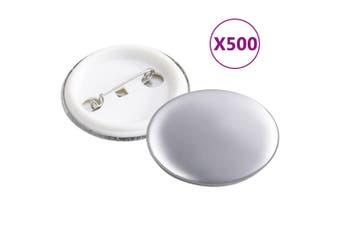 Pinback Button Parts 500 Sets 37 mm