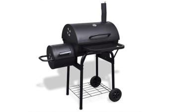 Charcoal BBQ Offset Smoker