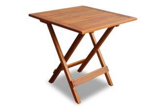 Bistro Table 46x46x47 cm Solid Acacia Wood