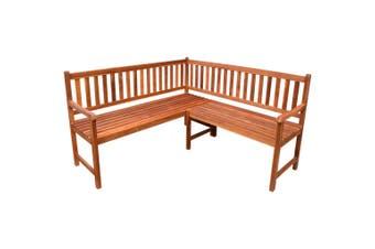 Garden Corner Bench 150 cm Solid Acacia Wood