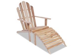 Adirondack Chair Solid Teak Wood