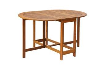 Garden Table 130x90x72 cm Solid Acacia Wood
