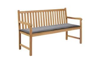 Garden Bench Cushion Grey 150x50x3 cm