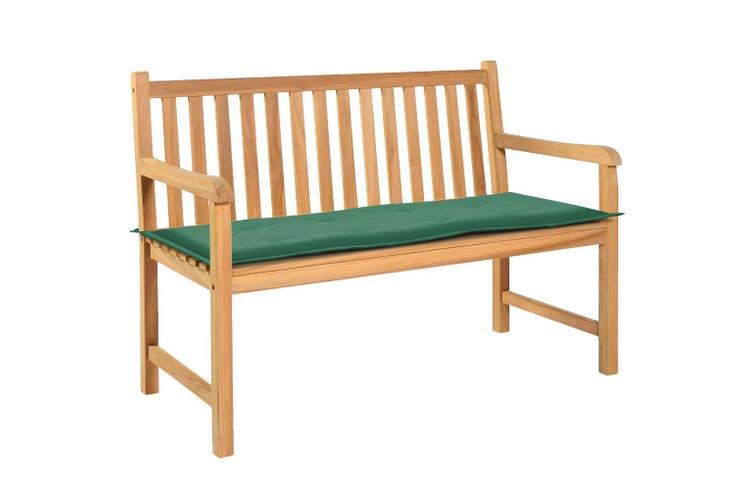 Garden Bench Cushion Green 120x50x3 cm