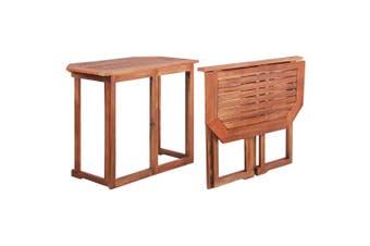 Bistro Table 90x50x75 cm Solid Acacia Wood