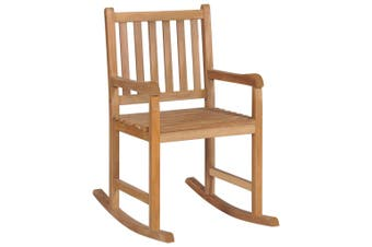 Rocking Chair Solid Teak Wood