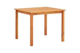Garden Table 88x88x74 cm Solid Acacia Wood