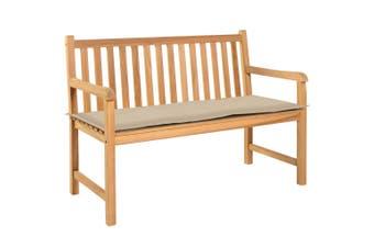Garden Bench Cushion Beige 150x50x3 cm