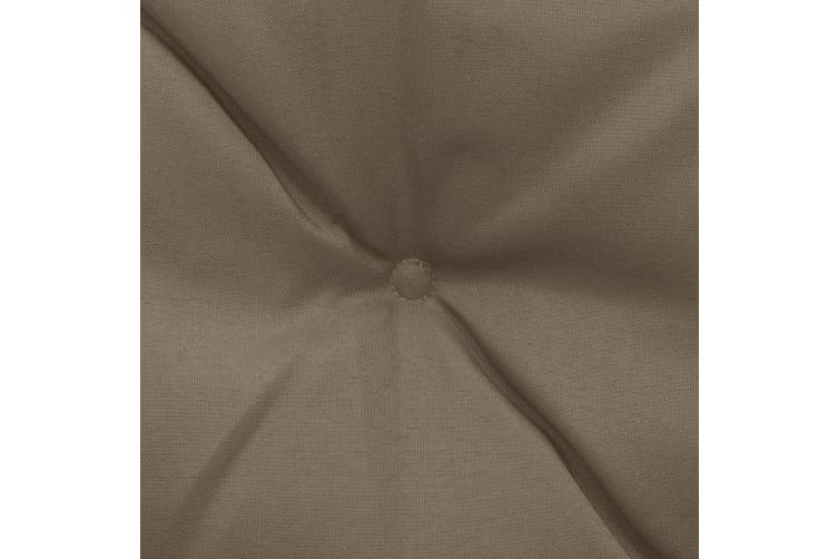 Cushion for Swing Chair Taupe 180 cm Fabric