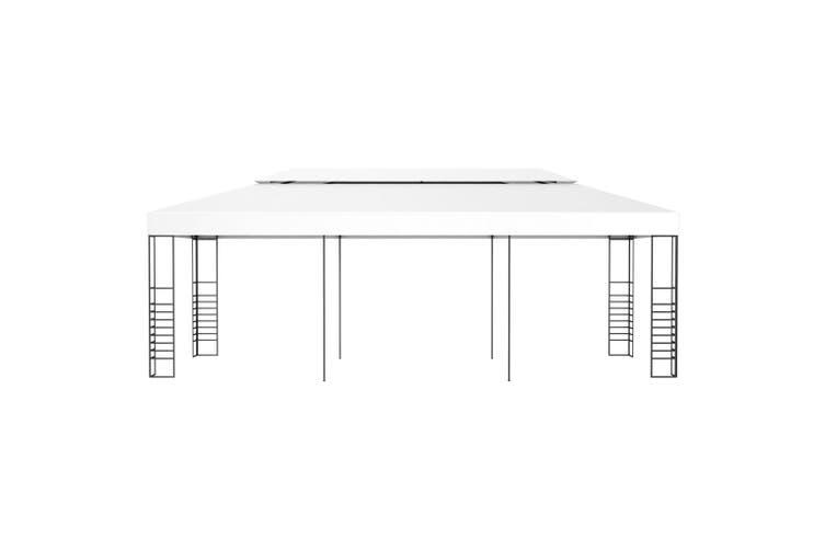 Gazebo Marquee 6x3 m White