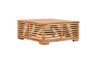 Garden Table 69.5x69.5x31 cm Solid Teak Wood