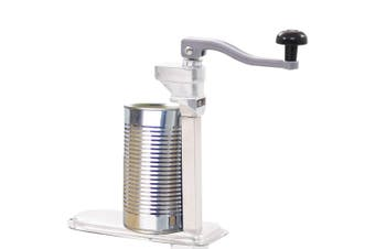 Canned Food Can Opener Silver 70 cm Aluminum and Stainless Steel