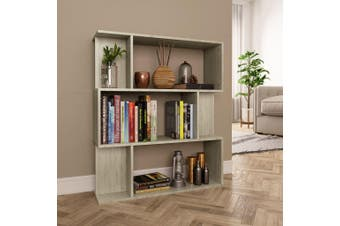 Book Cabinet/Room Divider Sonoma Oak 80x24x96 cm Chipboard