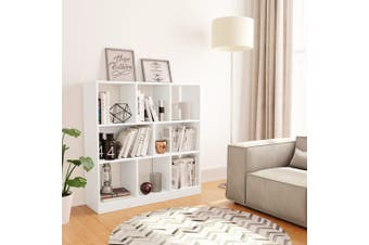 Book Cabinet White 97.5x29.5x100 cm Chipboard