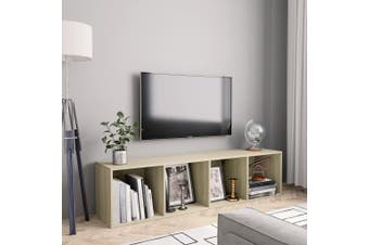 Book Cabinet/TV Cabinet Sonoma Oak 143x30x36 cm