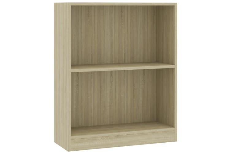 Bookshelf Sonoma Oak 60x24x74.5 cm Chipboard