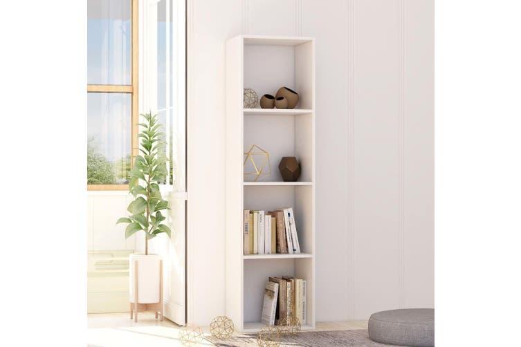 Book Cabinet White 40x30x151.5 cm Chipboard
