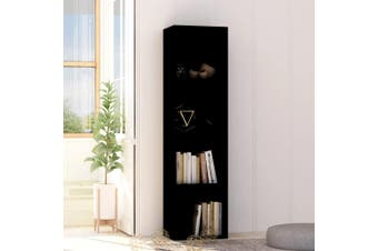 Book Cabinet Black 40x30x151.5 cm Chipboard