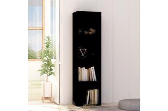 Book Cabinet Black 40x30x151.5 cm Chipboard
