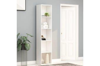 Book Cabinet White 40x30x189 cm Chipboard