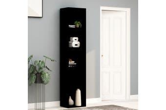 Book Cabinet Black 40x30x189 cm Chipboard