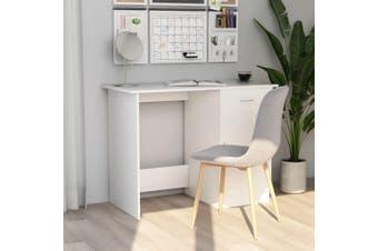 Desk White 100x50x76 cm Chipboard