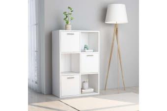 Storage Cabinet White 60x29.5x90 cm Chipboard