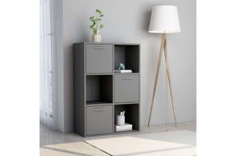 Storage Cabinet Grey 60x29.5x90 cm Chipboard