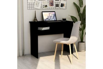 Desk Black 90x50x74 cm Chipboard