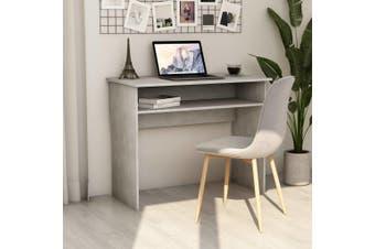 Desk Concrete Grey 90x50x74 cm Chipboard
