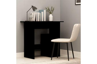 Desk Black 80x45x74 cm Chipboard