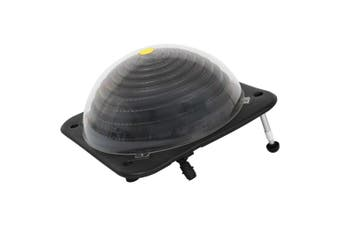 Solar Pool Heater 75x75x36 cm HDPE Aluminium