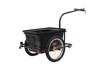 Bike Cargo Trailer Black 50 L