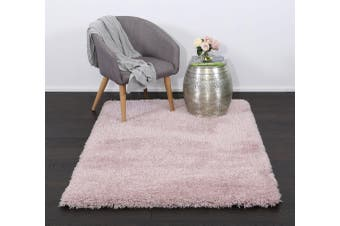 Flokati Shag Rug Light Pink