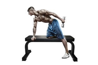 Fitness Exercise Flat Weigh - Heavy Duty Flat Weight Bench Press - Home Strength