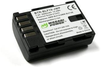 Wasabi Power Battery (1-Pack) for Panasonic DMW-BLF19 and Panasonic Lumix DMC-GH3, DMC-GH4, DC-GH5, DC-GH5S, DC-G9
