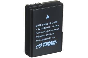 Wasabi Power ENEL14 Battery (1-Pack) for Nikon EN-EL14,EN-EL14a and Nikon Coolpix P7000, P7100, P7700, P7800, D3100, D3200, D3300, D5100, D5200, D5300, Df