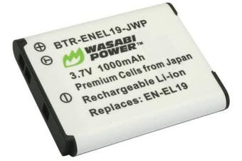 Wasabi Power Battery for Nikon EN-EL19 and Nikon COOLPIX