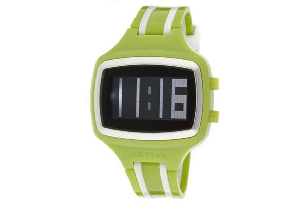 View more of the Activa Digital Lime Green & White Plastic (ACTIVA-AA401-005)