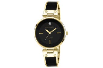 Anne Klein Diamond Gold Bracelet Ladies Watch - AK1414BKGB