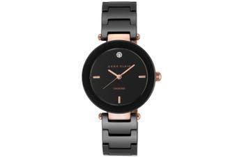 Anne Klein Diamond Black  Bracelet Ladies Watch - AK1018RGBK