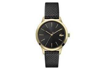 Lacoste Lacoste.12.12 Black Leather Ladies Watch - 2001090
