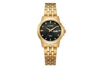 Citizen Gold Steel Ladies Watch - EQ0603-59F