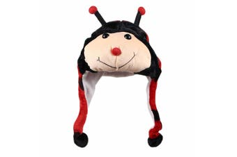 Animal Beanie - Lady Bug