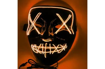 LED Purge Mask [Colour: Orange]