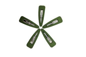 Hair Clips [Colour: Green]