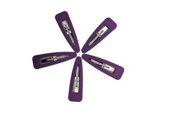 Hair Clips [Colour: Purple]