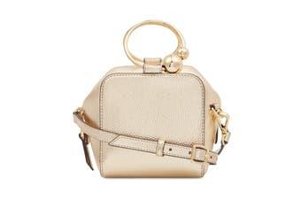 Nine West Moxie Top Handle Mini Crossbody Bag - Gold